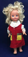 Vintage Mattel 1969 Timey Tell Doll w/ Original Watch & Pull String