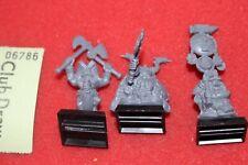 Games Workshop Warhammer Dwarf Dwarves Command Skull Pass Troll Slayer Thane OOP
