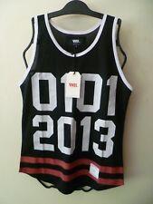 Women's VNDL Muscle 0101 Size S Boho Tank Top 2013 Black Vandal (NEW)