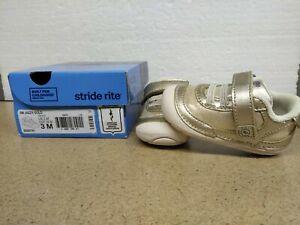 Stride Rite SM Jazzy/Gold (Girls' Infant-Toddler) USA 3 M BG55791