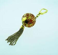 LOUIS VUITTON Ice Ball Key Ring Holder Charm