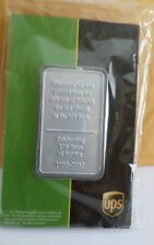 UPS 100 YEAR COMMEMORATIVE METAL BAR--Aircraft Metal--Never Opened--2007 Issue