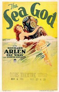 The Sea God - 1930 - Richard Arlen Fay Wray George Abbot Pre-Code Adventure DVD