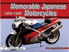 Memorable Japanese Motorcycles - 1959-1996 by Doug Mitchel (1997, Hardcover)