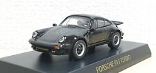 1/64 Kyosho PORSCHE 911 TURBO 930 BLACK diecast car model