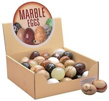 """Joblot box 45 marble & onyx eggs easter egg hunt collection shop display 2 """""""