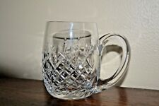 VINTAGE CRYSTAL TRANKARD MUG FATHERS DAY !! WATERFORD?