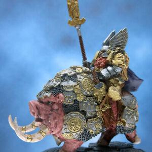 Painted Scibor Miniature Dwarf Lord on War Boar