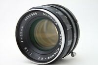 Minolta Auto Rokkor-PF 1:1.8 55mm Lens *As Is* #W028g