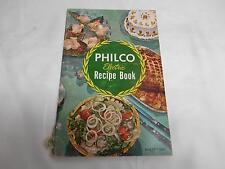 """Old Vtg PHILCO ELECTRIC KITCHEN """"ANYONE CAN BE A GOOD COOK"""" Cookbook Cook Book"""