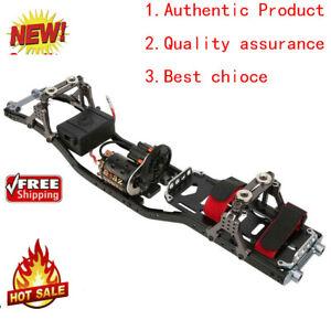 Carbon Fiber Metal Car Frame for 1/10 Scale Axial SCX10 D90 RC Crawler Car