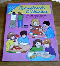 Edupress Springboards & Starters Grades 2-6 Paperback Book