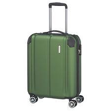 Travelite City 4w verde 55cm equipaje de mano 4 trolley rueda viaje maleta cerradura de equipaje