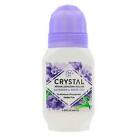 Crystal Mineral Deodorant Roll-On, Lavender & White Tea 2.25 oz (3 pack)