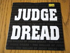 """Judge redoutable-The Ballad of Judge redoutable/on the Beach 7"""" vinyle PS"""