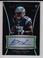 2013 Bowman Sterling Aaron Dobson auto RC 32/50 New England Patriots Marshall