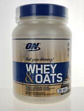 Optimum Nutrition - Whey & Oats Protein Powder Choc Glazed Donut - 1.54lb (B-15)