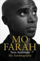 Twin Ambitions : My Autobiography Hardcover MO FARAH