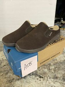Skechers Women On The Go Joy Snuggly Water-Repellent Suede Clogs Chocolate Sz 6