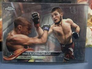 Topps Chrome UFC Khabib Nurmagomedov 5