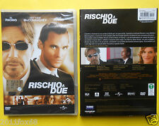 dvd,al pacino,rischio a due,two for the money,rene russo,matthew mcconaughey,f,v