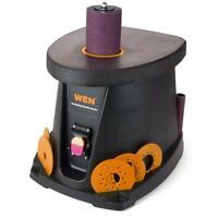 Spindle Sander 3.5 Amp 1/2 HP Oscillating Sanding Tool Dust Collector Storage
