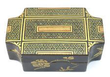 c1850, ANTIQUE 19thC JAPANESE EDO GOLD GILT LACQUER KOBAKO KOGO INCENSE BOX
