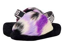 UGG Women's Fluff Yeah Slide Slipper 1117326 Magnolia Tie Dye Sz 5-12 NEW
