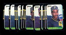 1987 DONRUSS #361 BARRY BONDS RC LOT OF 12 MINT *INV1791