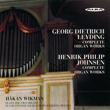 Leyding/Johnsen - Complete Organ Works [Audio CD] Leyding, Georg Dietrich..., Ne