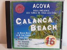 CD ALBUM Disque PUB ACOVA Calanca beach BEACH BOYS TINA TURNER ..