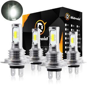 For Mercedes-Benz C250 C300 C350 - 4X Combo Headlight High & Low Beam LED Bulbs