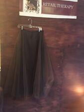 Maxou Full Length Skirt With Netting Black 2/4