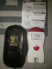 Nikken Magnetic Field Sensor #1205 With Case New Open Box Unused