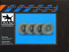 Blackdog Models 1/35 M1117 GUARDIAN WHEELS Resin Accessory Set