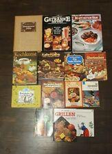 Konvolut alte Kochbücher 14 st. Vintage
