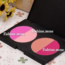 4Colors Blush Blusher Powder Makeup Palette Pink Rose Women Cheek Contour Beauty