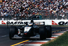 Mika Hakkinen World Champion Hand Signed McLaren Photo 12x8 Rare 1.