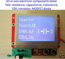 All-in-1 Component Tester Transistor Diode Capacitance ESR Meter Inductance