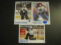 Lot of 3 Different Manon Rheaume The First Lady of Hockey Classic