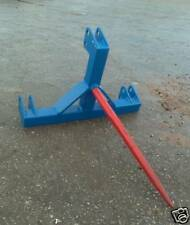 Tractor 3 point linkage single Bale Spike brand new