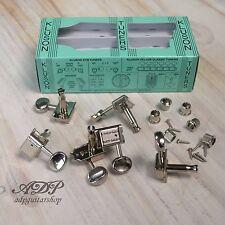Kluson Mlv6ln Vintage Double Line Locking Tuner 6inline Nickel 8.5mm