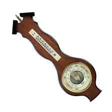 Veneered Barometer, Thermometer and Hygrometer - 1603 Banjo