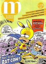 IL MESE PARMA 176 -COPERTINA E ARTICOLO RAT-CON 2014 - RATMAN 100 (Leo Ortolani)