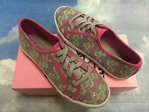 Keds Hello Kitty Sequin Lace Oxford Sneakers Youth Size 4.5/ Women 6.5