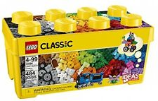 Lego Classic 484pc Medium Set 35 Color, Kids Creative Bricks Building Blocks Box