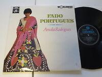 AMALIA RODRIGUES - Fado Portugues UK Columbia  Vinyl/ Cover: excellent