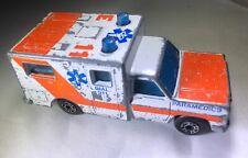 MATCHBOX AMBULANCE E11 Mattel Die-Cast Paramedics 1:64 1977