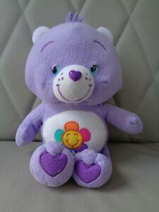 Glücks Bärchi Care Bears lila mit Sonne 2012