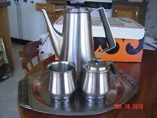 Vintage Danish Coffee Serving Set, International Stainless
